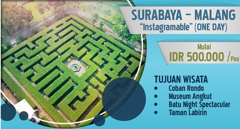 paket 7 wisata surabaya 1 hari