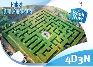 paket wisata surabaya 4 hari