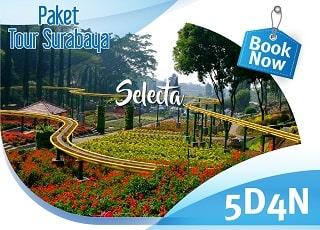 paket wisata surabaya 5 hari