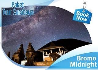 paket wisata surabaya bromo midnight