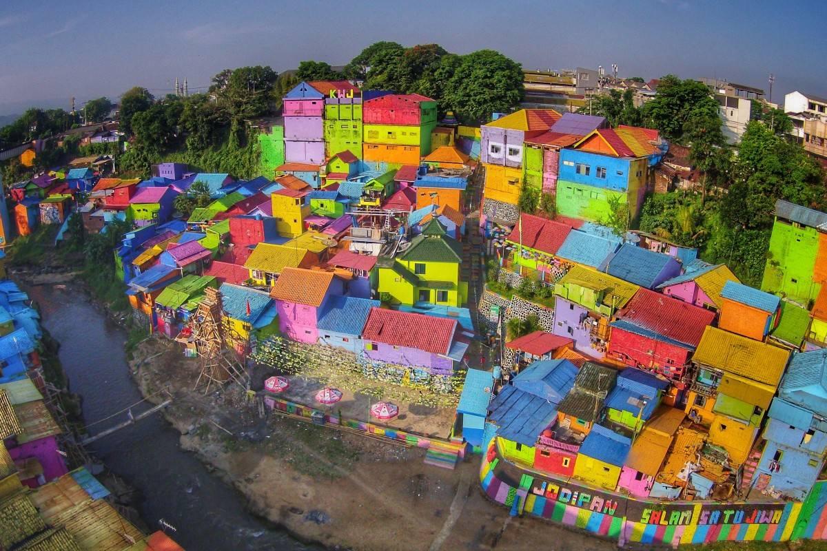Kampung Bulak Surabaya indah