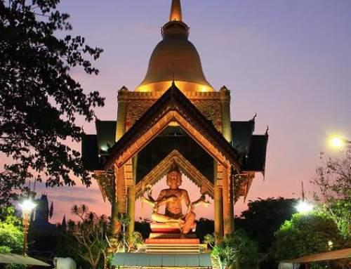 Patung Buddha Empat Rupa Surabaya: Bagaikan Berwisata di Thailand