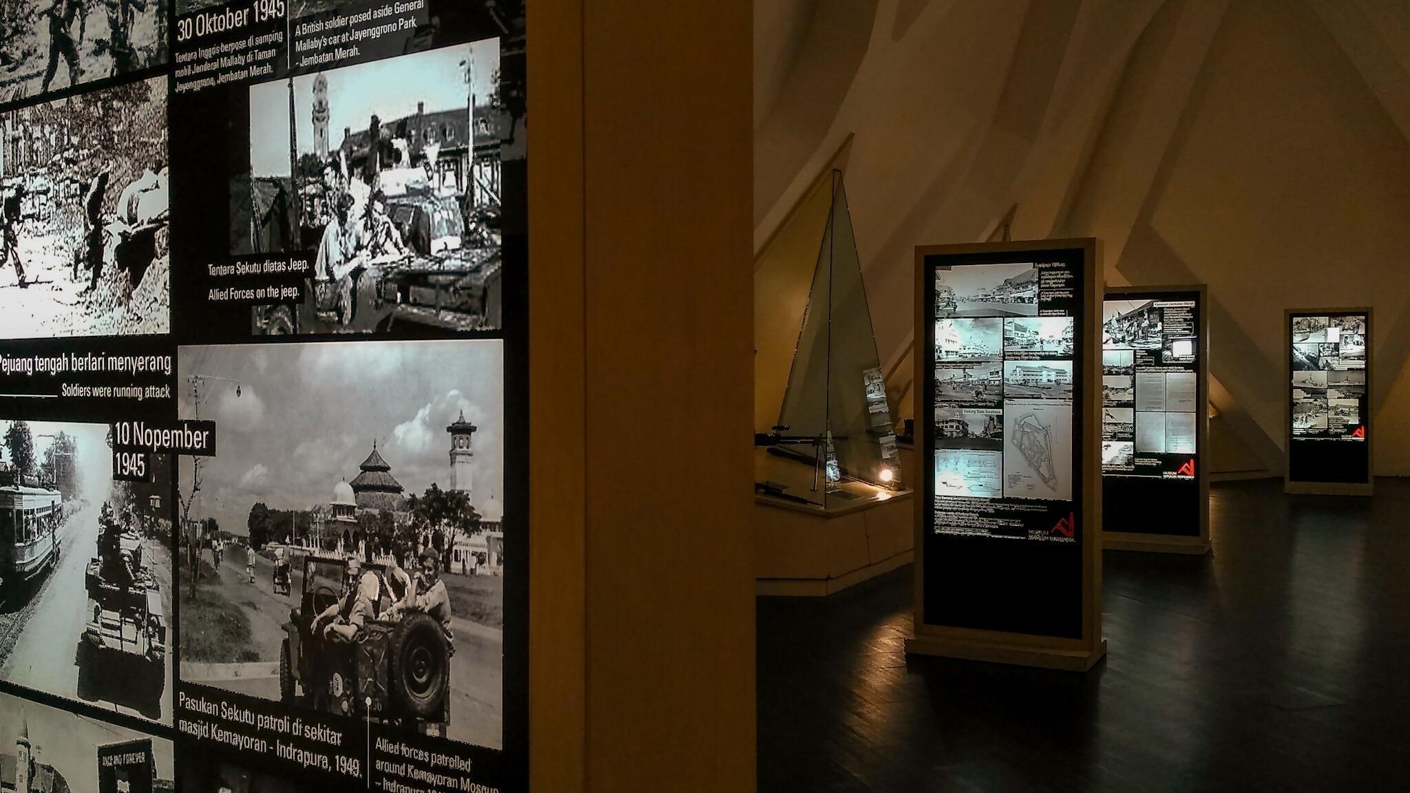 museum sepuluh november di surabaya